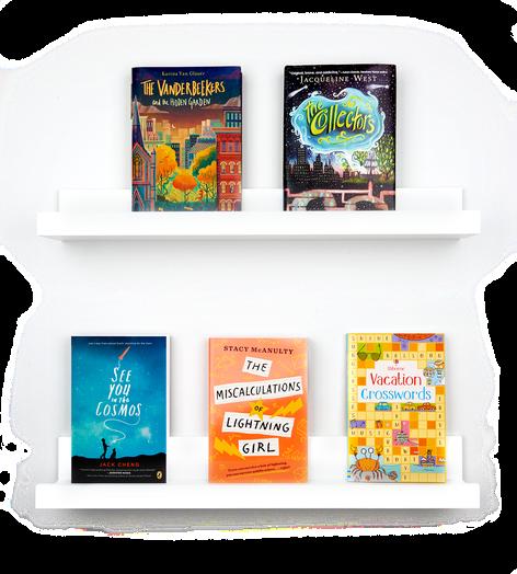 Books for Club Phoenix (ages 9 thru 12)