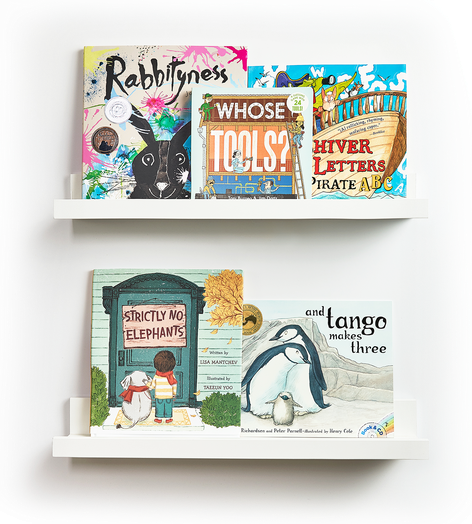Books for Club Sprout (ages 3 thru 5)